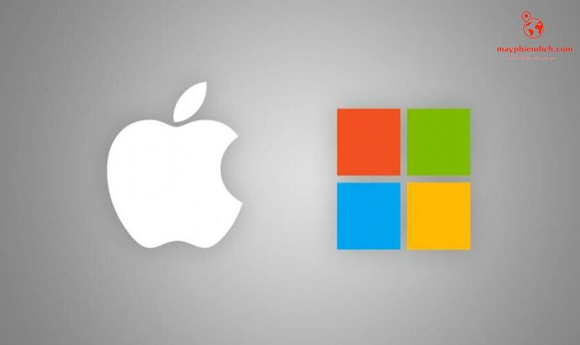 Chọn hệ điều hành Window hoặc Mac để kết nối chuột