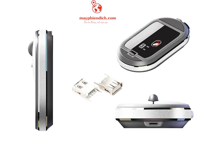 Khắc phục chuột nghe thông minh mất đầu USB