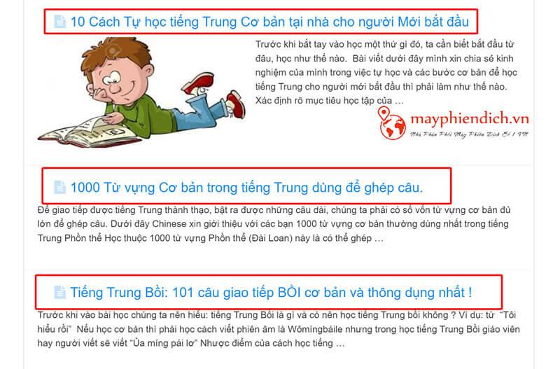 11 topics học tiếng Trung cho người mới bắt đầu