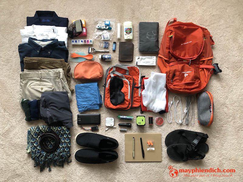Nên chuẩn bị hành lý như thế nào khi đi du lịch