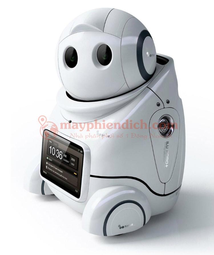 Thiết kế hiện đại của Robot Papero