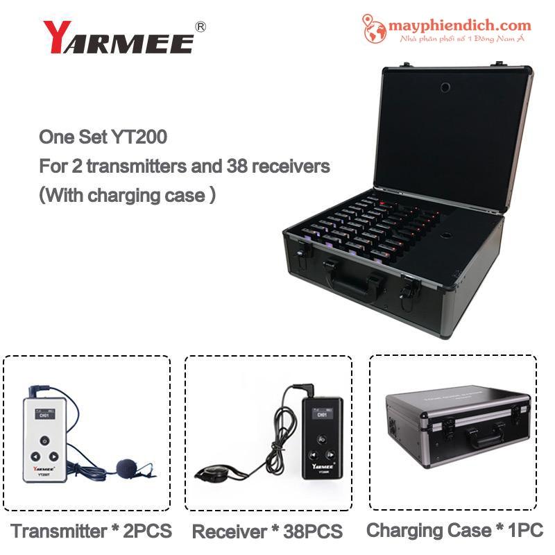 Trọn bộ máy phiên dịch Yarmee YT 100