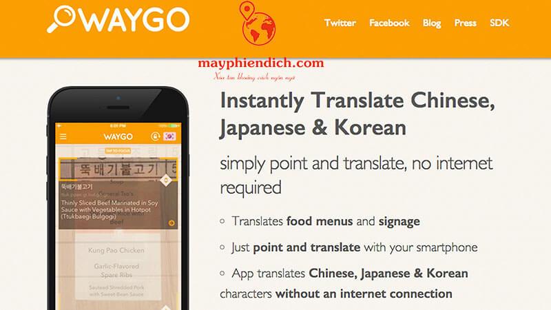 Phiên dịch ngôn ngữ Waygo