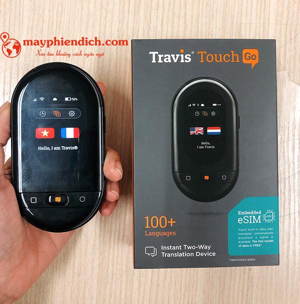 Máy phiên dịch Travis Touch Go 2020 nhỏ gọn cầm tay