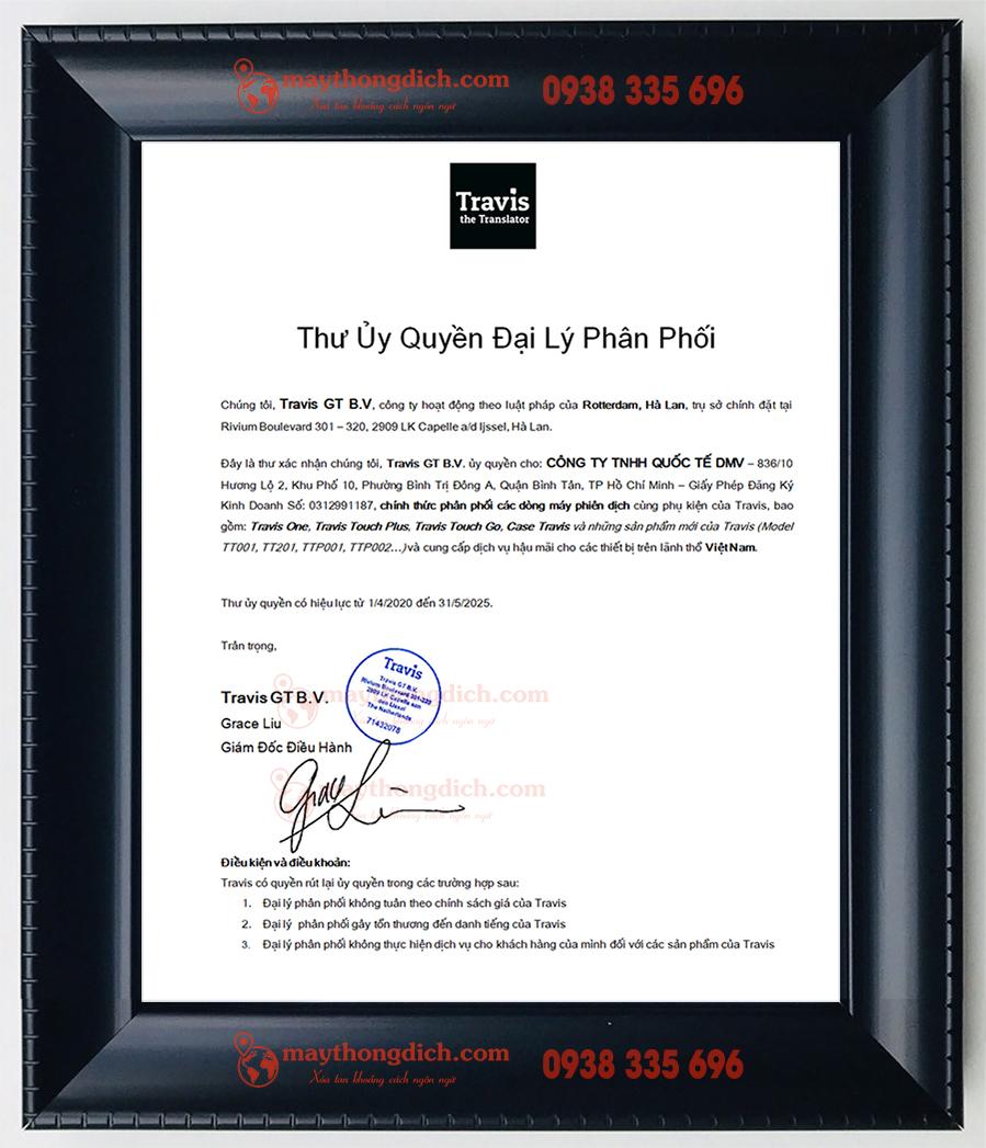 Nhà phân phối chính thức của máy phiên dịch Travis tại Việt Nam
