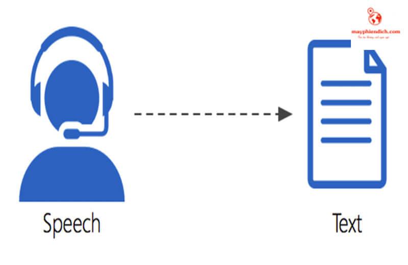 các tính năng có sẵn trong speechtexter