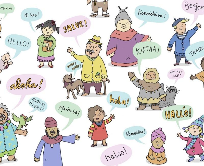 Tai nghe hỗ trợ hầu hết các ngôn ngữ phổ biến