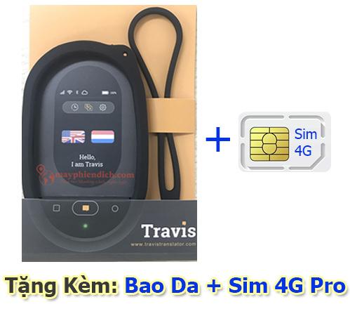 Tặng Bao da và sim 4g khi mua travis Touch