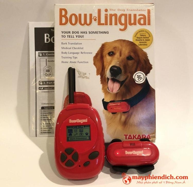Máy phiên dịch tiếng chó Bow Lingual